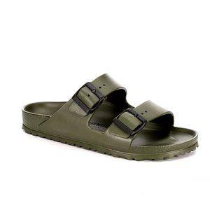Birkenstock Arizona Slide Sandal Khaki 42 - 11